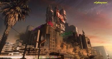 Ночной город Cyberpunk 2077 стремится быть уникальным и обоснованным городом киберпанка