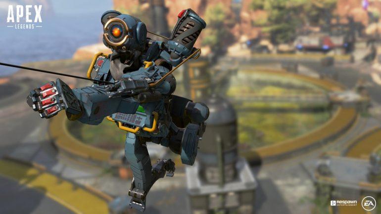 Вы можете использовать Grafling Hook Pathfinder на поезде, чтобы получить ускорение на новой карте Apex Legends