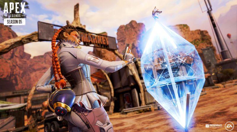 Игрок Apex Legends использует ульт Лоба, чтобы украсть предмет у вражеской команды