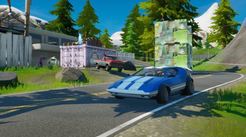 Все места для автозапчастей в Fortnite, глава 2, сезон 5