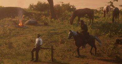 Red Dead Redemption 2: как повысить боевой дух лагеря
