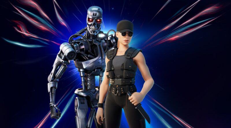 Сара Коннор из Терминатора и Т-800 теперь в игре Fortnite