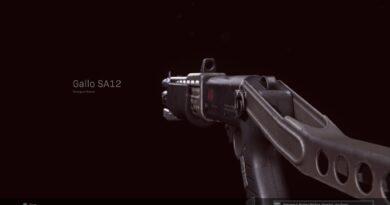 Лучшее снаряжение Gallo SA12 в Call of Duty: Warzone