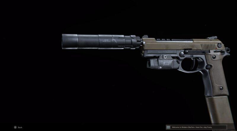 Лучшая установка класса Ренетти в Call of Duty: Modern Warfare