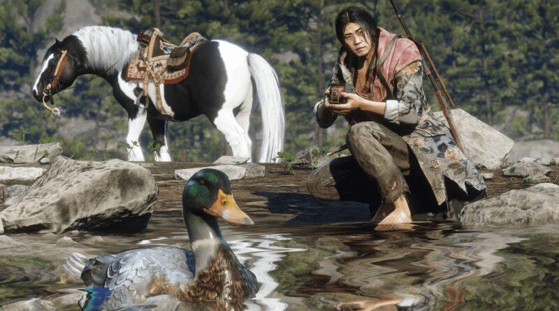 Red Dead Online: как начать роль натуралиста