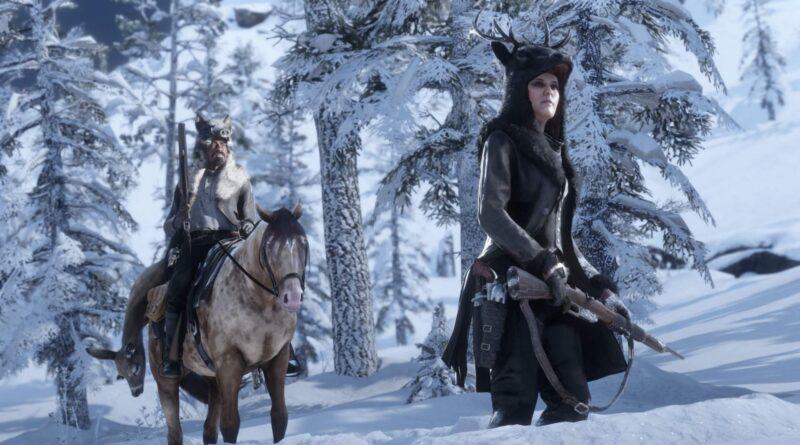 Red Dead Online: Локация легендарного ониксового волка