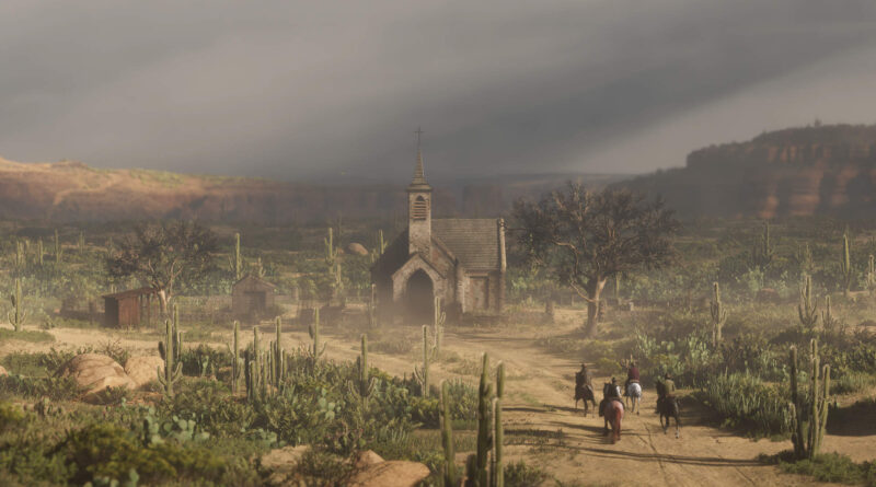 Red Dead Online: Легендарная локация Sapa Cougar