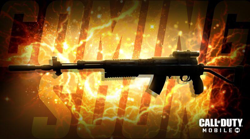 Call of Duty: Mobile может получить еще одну винтовку стрелка