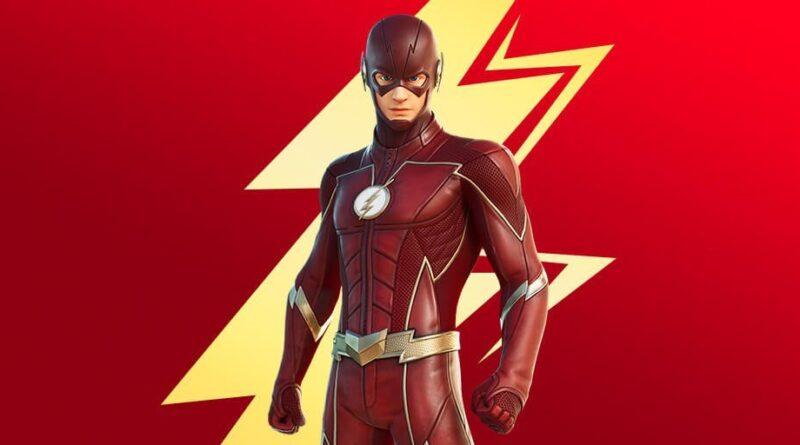 Сообщается, что Flash - это следующий скин кроссовера Fortnite, скоро появится Flash Cup