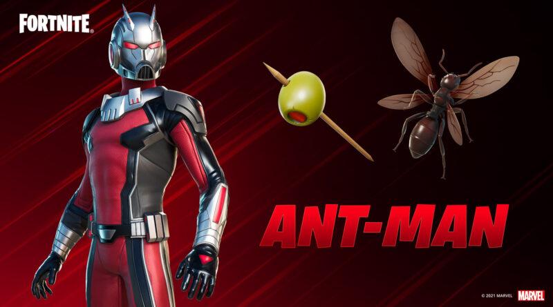Человек-муравей теперь доступен в Fortnite