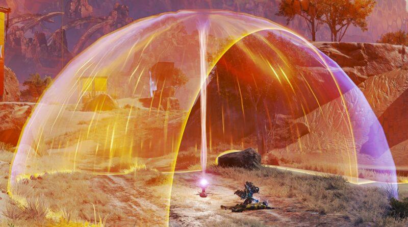 Захват кольца ярости Apex Legends добавляет тепловые щиты