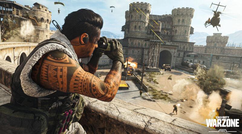 Код доступа к стадиону в Call of Duty: Warzone