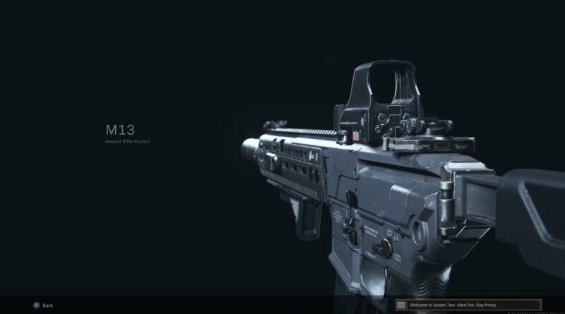 Лучшая загрузка M13 для Call of Duty: Warzone