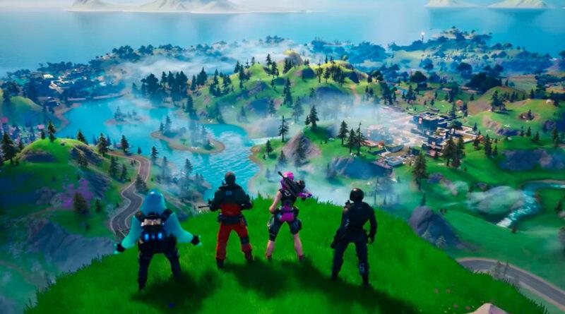 Fortnite: глава 2, сезон 6, новая карта и названные локации