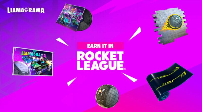 Вот вся косметика Rocket League, которая поступит в Fortnite с событием Llama-Rama