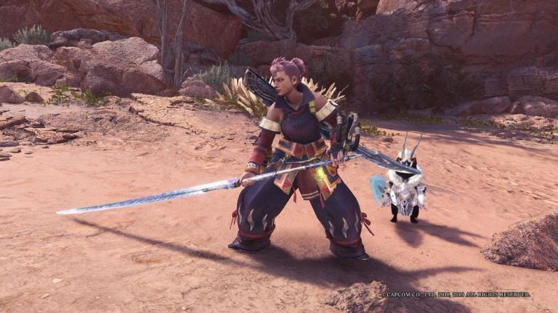 [Top 7] Лучший длинный меч MHW