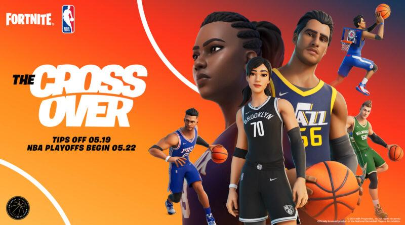 Скины НБА появятся в Fortnite на этой неделе