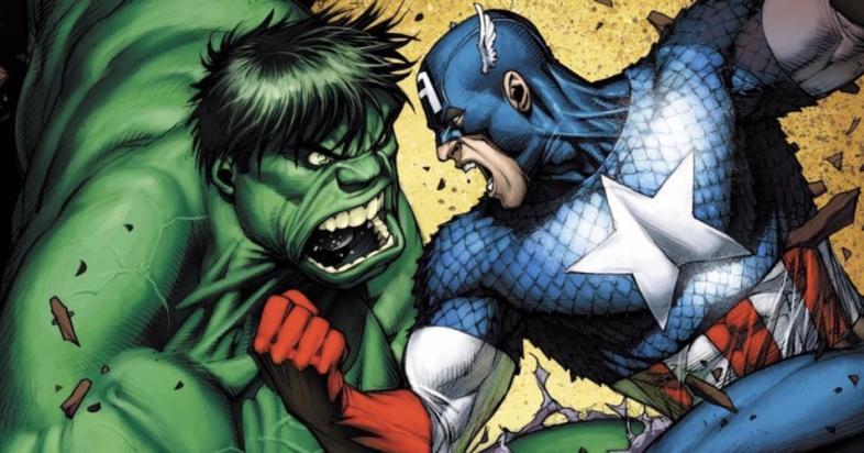 Капитан Америка против Халка: вот кто победит