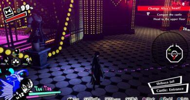 Гайд по Persona 5 Strikers: как решить загадку шагов в тюрьме Алисы