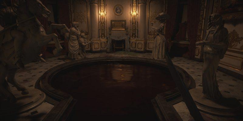 Resident Evil Village: как решить загадку статуи кровавой ванны
