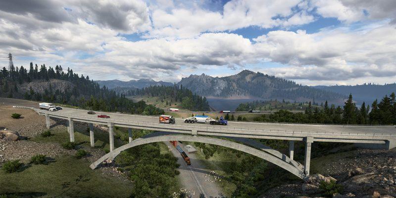Открытая бета-версия многопользовательской игры American Truck Simulator 1.41 вышла в Steam