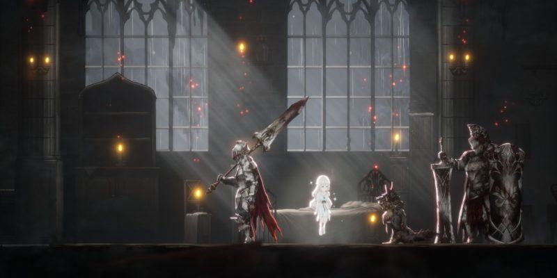 Ender Lilies: Quietus of the Knights — Разрушенная крепость и рыцарь-капитан Юлий