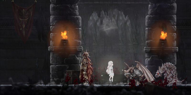 Ender Lilies: Quietus of the Knights — Двойные шпили и Ульв, Безумный рыцарь