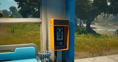Где найти таксофон для Fortnite Season 7