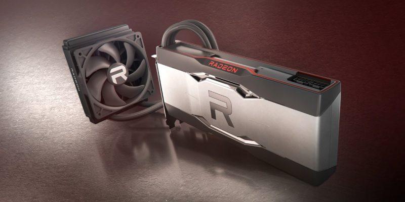 AMD представляет видеокарту Radeon RX 6900 XT LC с жидкостным охлаждением