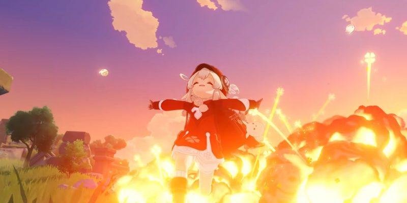 Genshin Impact: гайд по кли - оружие, артефакты и таланты