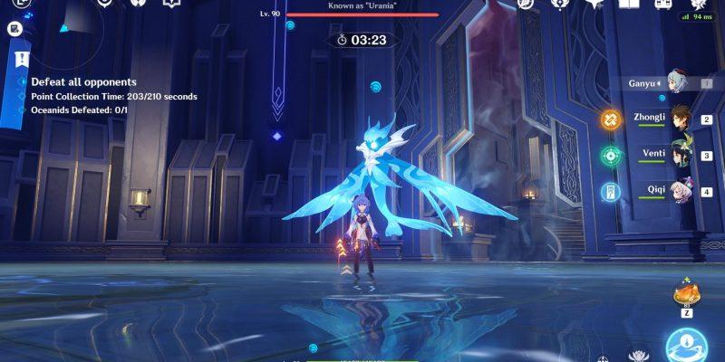 Genshin Impact: Legend of the Vagabond Sword - гайд по Oceanid