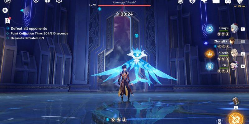 Genshin Impact: Legend of the Vagabond Sword (День 5) - гайд по Oceanid