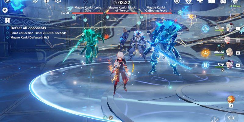 Genshin Impact: Legend of the Vagabond Sword (День 6) - гайд по Магу Кенки