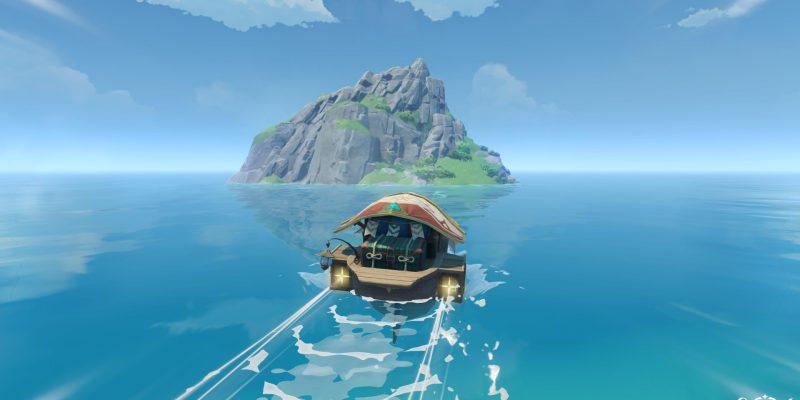 Гайд по Genshin Impact: отплытие на секретный остров с острова Твиннинг