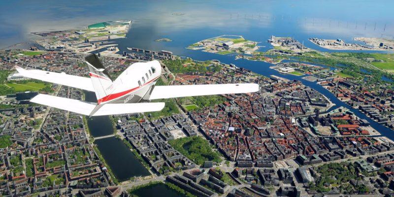 Обновление Microsoft Flight Simulator World Update 5 позволяет погрузиться в мир скандинавских стран