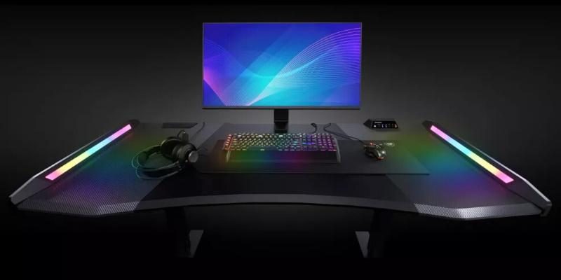 Cougar представляет Mars Pro 150, новый игровой стол, покрытый великолепной RGB-подсветкой