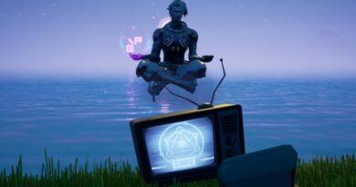 Где найти и уничтожить жуткие телевизоры для испытания Fortnite Season 6