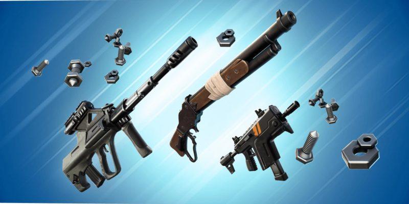 Все новое оружие, изменения в существующем оружии и механика создания в Fortnite Season 7