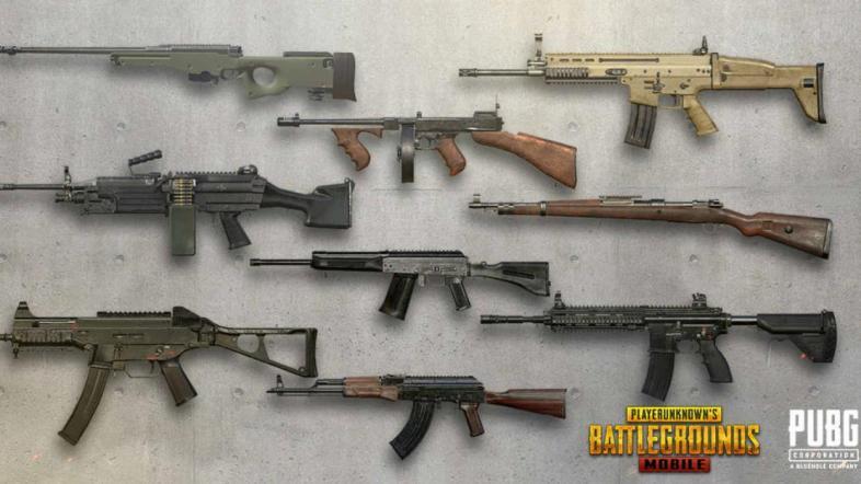 [Top 5] Лучшая штурмовая винтовка в PUBG Mobile