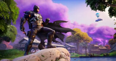 Бронированный костюм Бэтмена Зеро теперь доступен в Fortnite