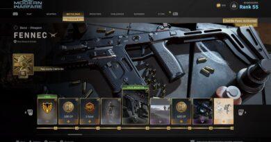Как разблокировать Fennec и CR-56 AMAX в Call of Duty: Warzone