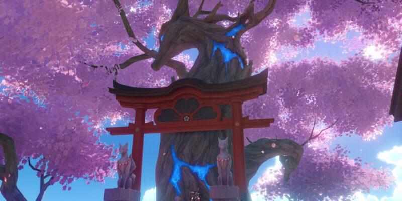 Genshin Impact - руководство по улучшениям и наградам священной сакуры