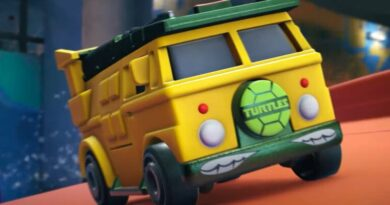 В дни запуска Hot Wheels Unleashed представлены автомобили, в том числе TMNT Party Wagon