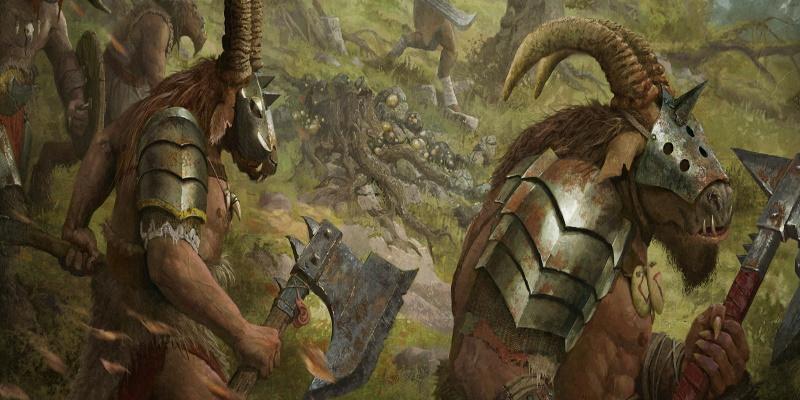 Total War: Warhammer II - переработка зверолюдей и гайд по стаду