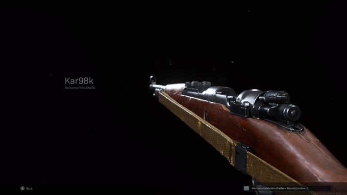 Лучшая загрузка Kar98k в Call of Duty: Warzone