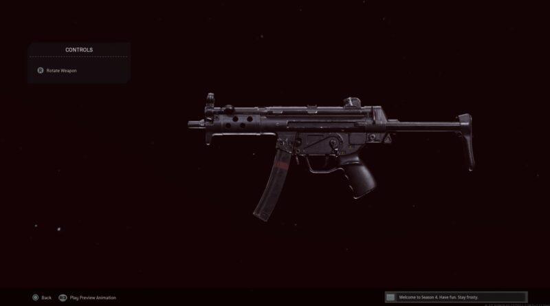 Лучшая загрузка MP5 времен холодной войны в Call of Duty: Warzone