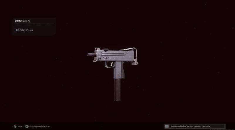 Лучшая загрузка MAC-10 для Call of Duty: Warzone