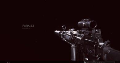 Лучшая загрузка FARA 83 для Call of Duty: Warzone