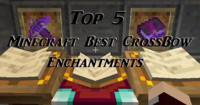 [Top 5] Лучшие чары для CrossBow в Minecraft