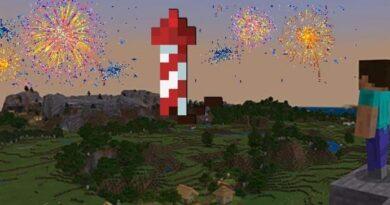 Самые разрушительные фейерверки в Minecraft
